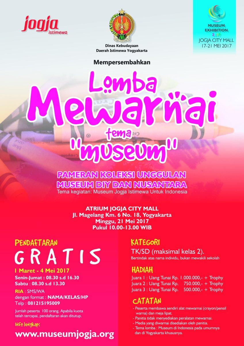 Lomba Mewarnai Tema Museum Yogya