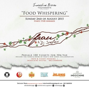Food Whispering Colaboration between Frau & Indochine Bistro