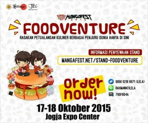 Foodventure 2015 di JEC