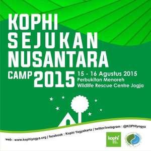 KOPHI: Sejukan Nusantara Camp 2015