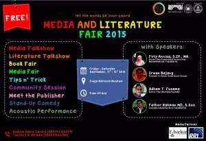 Media And Literature Fair di Jogja National Museum