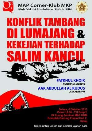 Konflik Tambang di Lumajang & Kekejian Terhadap Salim Kancil