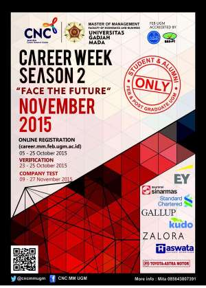 Career Week Season 2 di MM UGM