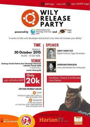 Ubuntu Wily Release Party