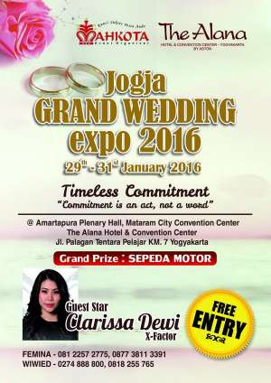 Jogja Grand Wedding Expo 2016