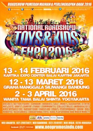 National Roadshow TOYS & KIDS Expo 2016