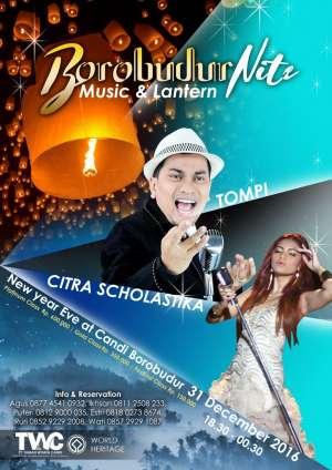Borobudur Nite Music And Lantern