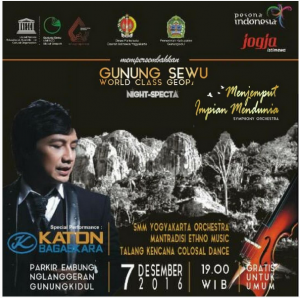 Gunung Sewu World Class Geop, Special Perform : Katon Bagaskara