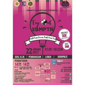 "Try Out SBMPTN ""Build Your Dream, Build Your Way"""