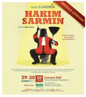 Teater Gandrik Hakim Sarmin