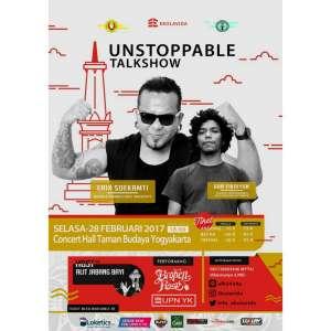 Unstoppable Talkshow with Erix Soekamti & Aan Fikriyan