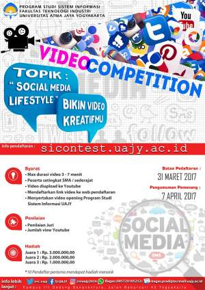 "Video Competition Topik ""Social Media Lifestyle"""