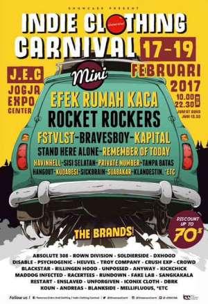 Indie Clothing Carnival with Efek Rumah Kaca, Rocket Rockers, dll