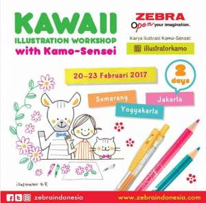 Kawaii Illustration Workshop with Kamo-Sensei