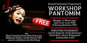 """Rumah Pantomim Yogyakarta menggelar """"Workshop Pantomim"""""""