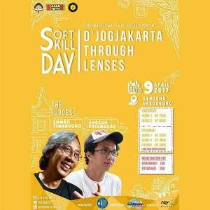 "Lomba Fotografi dan Videografi  ""Soft Skill Day : D'jogjakarta Through Lenses"""
