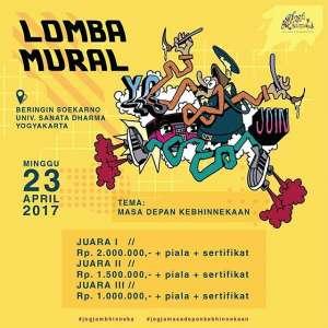 Lomba Mural Jogja mBhinneka