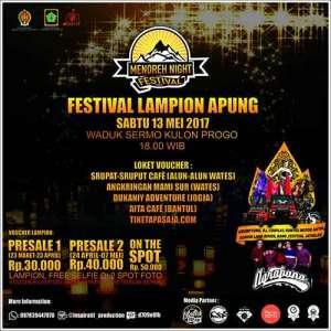 Festival Lampion Apung