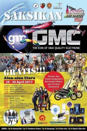 Jogja Air Show 2017 menampilkan GMC