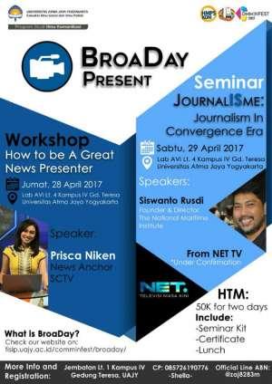 BroaDay present Seminar Journalism