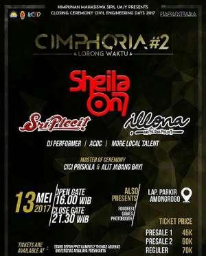 Cimphoria #2 bersama Sheila On 7