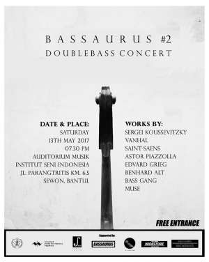 Bassaurus #2 Doublebass Concert di ISI