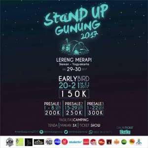 Stand Up Gunung 2017
