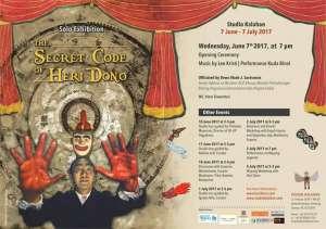 Solo Exhibition The Secret Code of Heri Dono