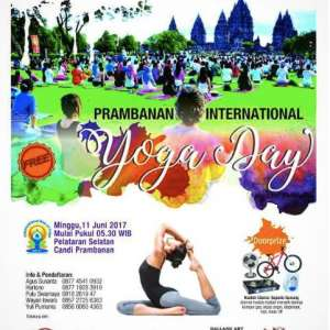 Prambanan International Yoga Day