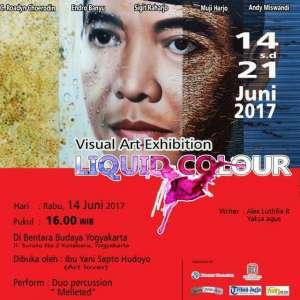 "Visual Art Exhibition "" Liquid Colour"" di Bentara Budaya Yogyakarta"