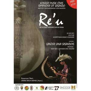 Konser Musik Etnis Re'U Symphony Of Sasando
