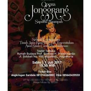 Opera Jonggrang - Sapatha Anumpah