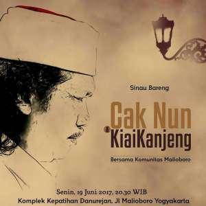 Sinau Bareng Cak Nun Kiai Kanjeng bersama Komunitas Malioboro