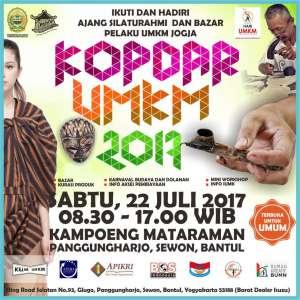Kopdar UMKM 2017 di Kampung Mataraman