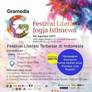 Festival Literasi Jogja Istimewa