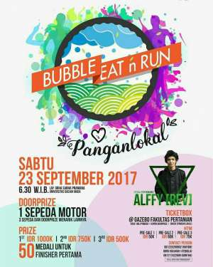 Buble, Eat and Run, Kampanye Pangan Lokal