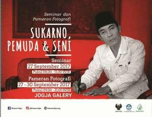 Seminar dan Pameran Fotografi Sukarno, Pemuda & Seni