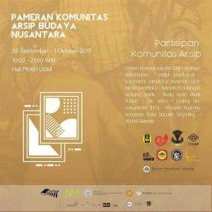 Pameran Komunitas Arsip Budaya Nusantara