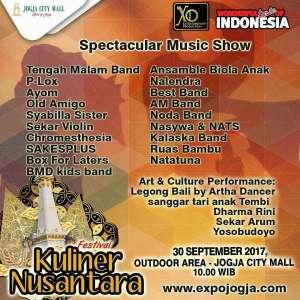 XO Production mempersembahkan Festival Kuliner Nusantara