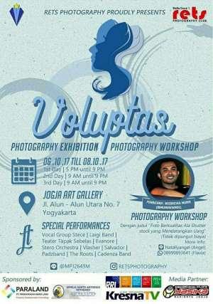 "Photography Exhibition and Workshop ""Voluptas"""
