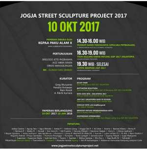 Jogja Street Sculpture Project 2017