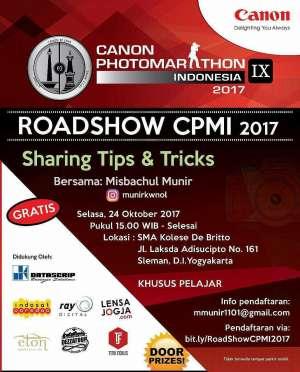 Sharing Tips & Tricks Roadshow CPMI - Canon Photomarathon