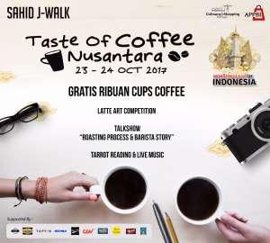 Taste Of Coffee Nusantara