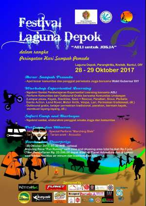 "Festival Laguna Depok "" AELI untuk Jogja"""