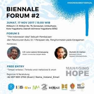 """Biennale Forum #2 """"The Indonesian Idea"""""""