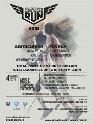 Adisutjipto Urban : Obstacle Run 2018
