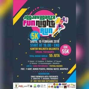 Jogja Vaganza Fun Night Run 2018