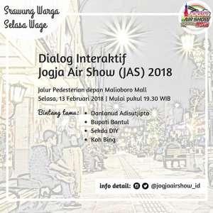 Dialog Interaktif Jogja Air Show 2018