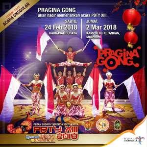 Pragina Gong hadir di PBTY 2018