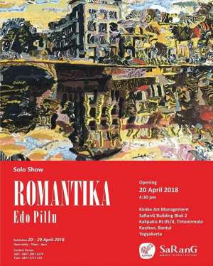 solo exhibition of Edo Pillu